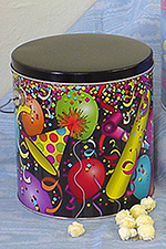 1 Gallon Popcorn Tin
