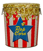 3.5 Gallon Popcorn Tin