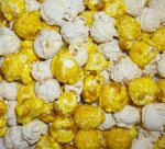 Banana Coconut Cream Pie Popcorn